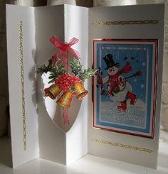 Side Pop-out Card by Sheila Weaver - Joanna Sheen