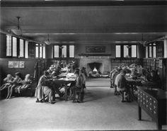 Wychwood Branch Library - vintage phioto WY 1927 Wychwood children's room.