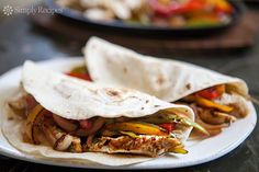 Chicken Fajitas Recipe | SimplyRecipes.com