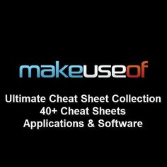 Ipad for seniors for dummies cheat sheet tech stuff pinterest ipad check out makeuseof cheat sheets that list shortcuts for a number of essential programs that you fandeluxe Gallery