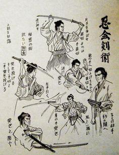 Kenjutsu training