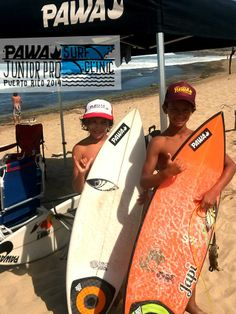 Jean Carlo (10) and Diego (9) New PAWA Team members.
