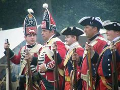 Redcoats of the Seven Years War