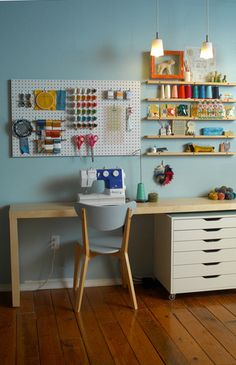 I would love this in my room...aside from my craft room in the garage!