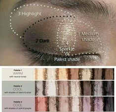 A little guide for applying your eyeshadow! I am in love with Younique's eyeshadow palettes! https://www.youniqueproducts.com/denisemarie/products/landing