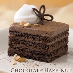 Chocolate Hazelnut ~ Pampered chef recipe