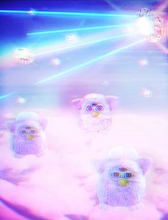 Furbies In The Sky With Diamonds By Mandy Stoller