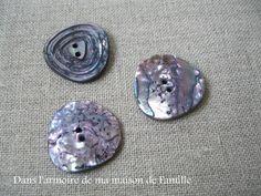 boutons en nacre