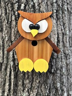 Arts And Crafts Projects, Crafts To Make, Wood Crafts, Fun Crafts, Wood Bird Feeder, Bird Feeders, Donkey Drawing, Homemade Bird Houses, Woodworking Articles