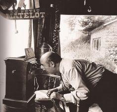 Pablo Neruda   Fotografía de Sara Facio
