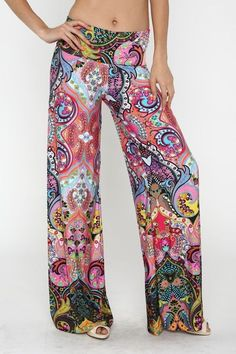 Love these funky yoga pants