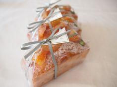 Cake d'abricot  Apricot pound cake  アプリコットのケイク