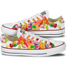 Jelly Bean Converse Low Tops
