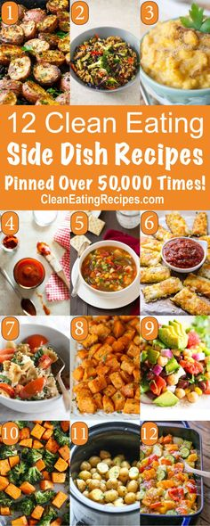 Best Clean Eating Side Dish Recipes