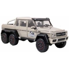 Jurassic World 1:24 Die-Cast Mercedes G63 AMG 6x6, Multicolor