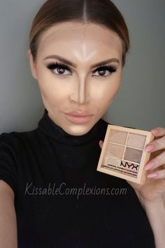 Easy Contouring | We've heard great reviews about this NYX Cosmetics contour palette!