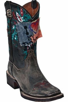 Dan Post High Roller Cowgirl Boots - Square Toe - Sheplers
