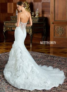 Wedding Dresses | Bridal Gowns | KittyChen Couture - Penelope