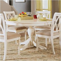 Round kitchen table with leaf High Quality Dining American Drew Camden Table White Dining Table White Round Kitchen Table Dining Sets 1915rentstrikesinfo 23 Best Dining Room Tables Images Dining Room Furniture Dining