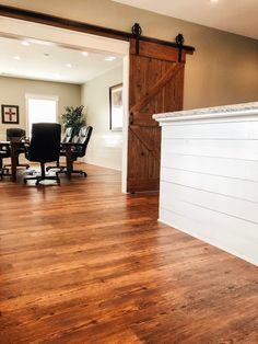Flooring Types, Vinyl Plank Flooring, Laminate Flooring, Hardwood Floors, Cedar Homes, House Improvements, Waterproof Flooring, Kitchen Lighting, Lighting Ideas