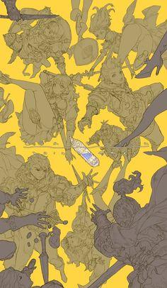 drawings of sketches Illustration Sketches, Character Illustration, Graphic Design Illustration, Character Concept, Character Art, Concept Art, Drawing Poses, Manga Drawing, Figure Sketching