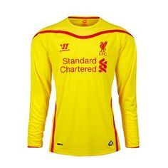 Liverpool Football Club Mens Jersey 2014 2015 The Warrior Liverpool 2014- 2015 home jersey 1a4f24572