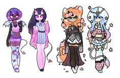 Adopt Collab 003[closed] by PastelBits on DeviantArt