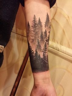 22 Most Popular Ways To Forest Tattoos Sleeve Nature Tat 47 - myhomestyleguide. Forest Tattoo Sleeve, Nature Tattoo Sleeve, Forearm Sleeve Tattoos, Full Sleeve Tattoos, Tattoo Sleeve Designs, Tattoo Designs Men, Tattoo Neck, Tattoo Nature, Tree Tattoo Sleeves