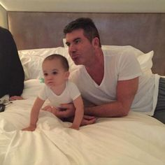 """Simon Cowell: """"I Still Haven't Changed A Nappy"""" - http://site.celebritybabyscoop.com/cbs/2015/05/27/cowell-havent-changed #Diaper, #DiaperDuty, #Fatherhood, #Nappy, #SimonCowell"""
