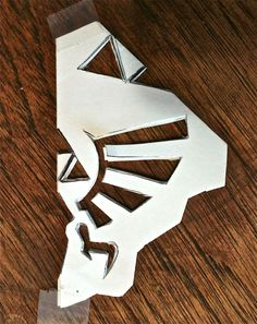 Snowflake Template, Snowflake Pattern, Zelda Gifts, Zelda Birthday, Anime Crafts, Pokemon, Cute Crafts, Geek Crafts, Geek Out
