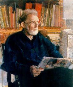 Retrato de Roger Anthony Morris, RP (Grã-Bretanha, 1938) óleo sobre tela