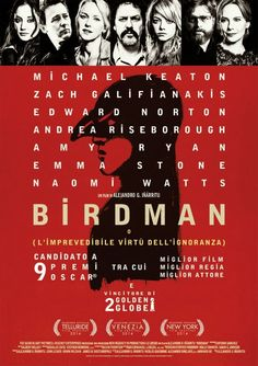 """Birdman or (The Unexpected Virtue of Ignorance)"" may be the best example of the lack of diversity in this year's Oscar nominees and the committee that votes on them. Unless you are a white, middle..."