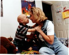 Robyn Raphael's son Keaton lost his battle with Neuroblastoma Stage IV at the age of 5.
