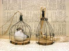 ArTick: Wooden chips bird cage