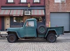 Jeep Pickup Truck, Willys Wagon, 1950s Car, Old Jeep, Lifted Trucks, Pick Up, Old Cars, 4x4, Chevy