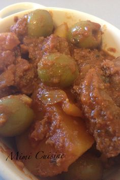 Tajine Boeuf Olives --- Cookeo --- - Mimi Cuisine