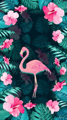 32 Ideas wall paper fofos novos flamingos in 2019 Cute Wallpaper Backgrounds, Wallpaper Iphone Cute, Screen Wallpaper, Cute Wallpapers, Iphone Wallpaper, Flamingo Wallpaper, Tropical Wallpaper, Flamingo Art, Tumblr Wallpaper