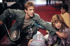 Kyle Reese and Sarah Connor