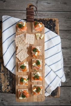 Cottage Cheese with Lemon & Cloudberry, Smoked Salmon and Dill | Made by Mary