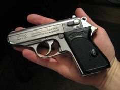 Walther PPK 380 (made famous by James Bond)