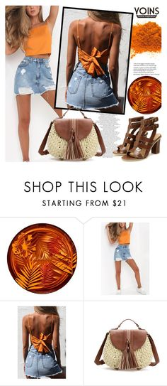 """""""YOINS"""" by gaby-mil ❤ liked on Polyvore featuring Clarins, yoins, yoinscollection and loveyoins"""