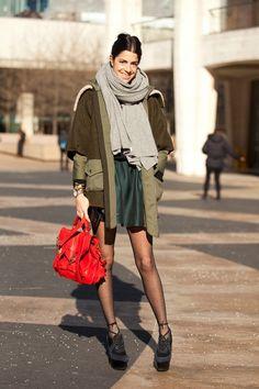 Fashion Week street style galore! 50+ inspiration shots to kick up your wardrobe game... Photo by Mark Iantosca