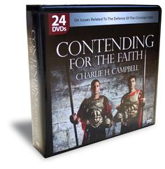 Always Be Ready Apologetics Store - Contending For The Faith (24 DVDs): Charlie Campbell's Best-Selling DVDs in One Case, $168.00 (http://alwaysbeready.mybigcommerce.com/contending-for-the-faith-24-dvds-charlie-campbells-best-selling-dvds-in-one-case/)