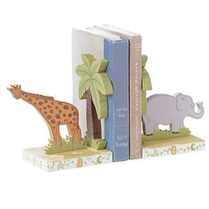 Fantasy Fields Alphabet Book End