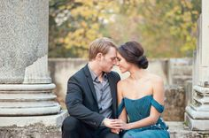 Jacqueline and Trebor – A Rome Engagement Shoot