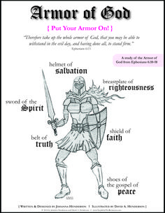 FREE Girl and Boy Armor of God Bible Study - Jesus is the answer We Are The World, In This World, Bible Scriptures, Bible Quotes, Bible Doctrine, War Quotes, Scripture Memorization, Religion, Saint Esprit