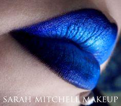 Blue Black lip