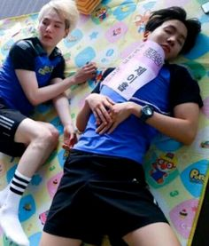 Sobi lying down together