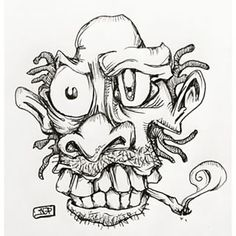 graffiti cartoon character sketches dope - Google Search                                                                                                                                                     More