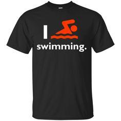 Swimming Shirts I love Swimming T-shirts Hoodies Sweatshirts